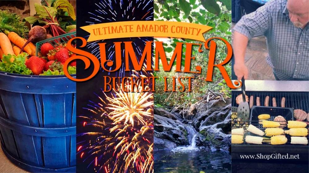 Summer Bucket List header